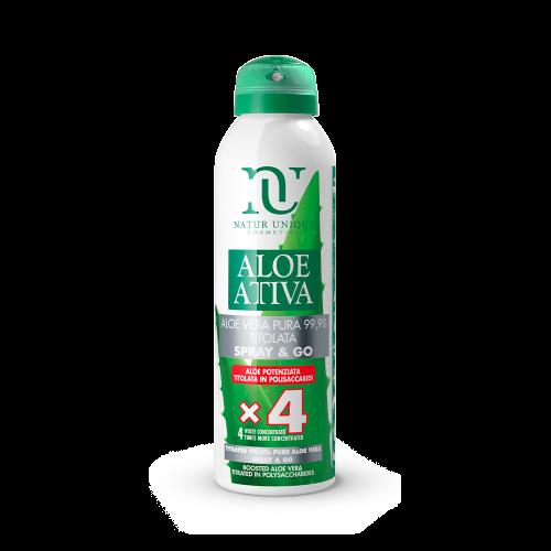 Aloe Vera Pura Spray&GO 99,9% Titolata Idratanti Natur Unique
