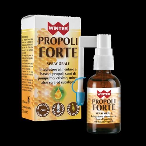 Propoli Forte Spray Orale Benessere vie respiratorie Winter