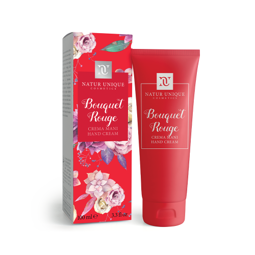 Crema Mani Bouquet Rouge Mani e Piedi Natur Unique