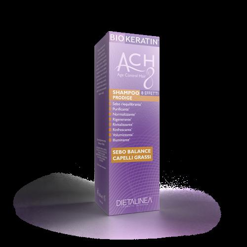 Shampoo Capelli Sebo Balance Biokeratin ACH8 Shampoo Dietalinea