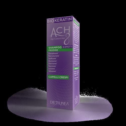 Shampoo Capelli Crespi Biokeratin ACH8 Shampoo Dietalinea