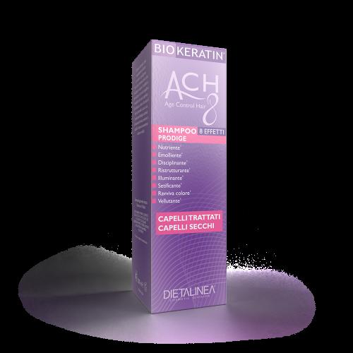 Shampoo Capelli Secchi e Trattati Biokeratin ACH8 Shampoo Dietalinea