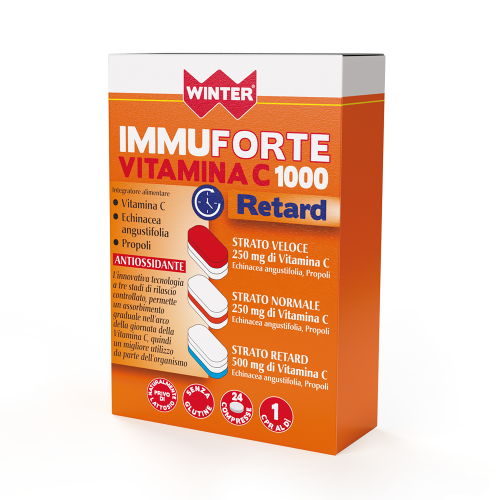 Immuforte Vitamina C 1000 Retard Difese immunitarie Winter