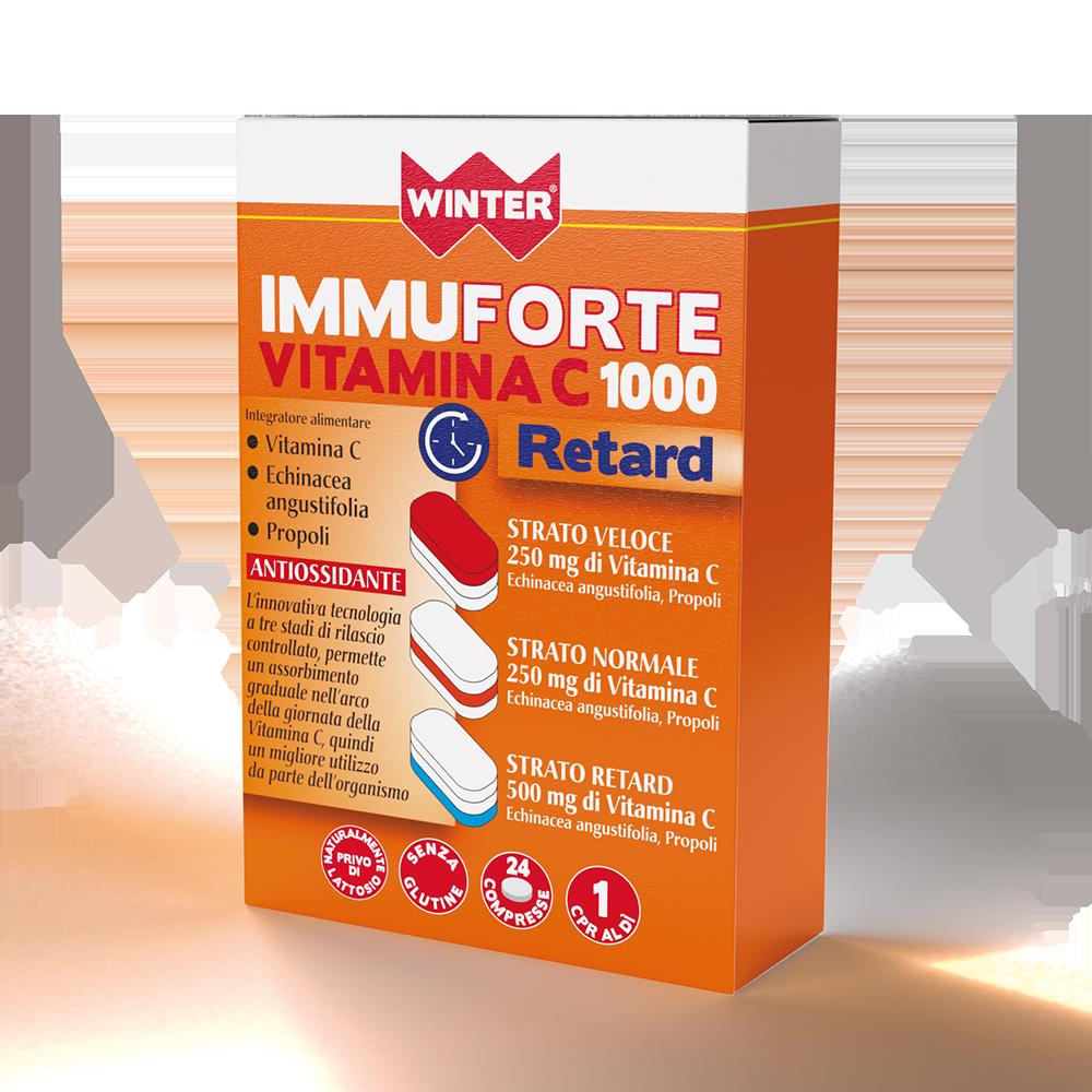 Immuforte Vitamina C 1000 Retard Difese immunitarie Winter