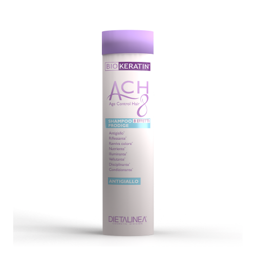 Shampoo Antigiallo Biokeratin ACH8 Shampoo Dietalinea
