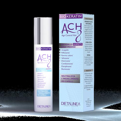 Spray Capelli Antigiallo Biokeratin ACH8 Trattamenti specifici Dietalinea