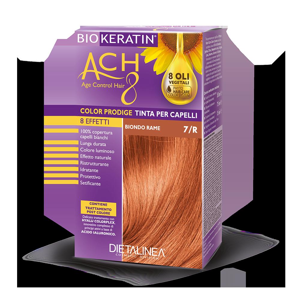 Tinta per capelli 7/R Biondo Rame Colorazione Capelli Dietalinea