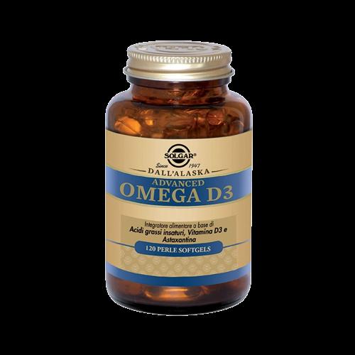 Advanced Omega D3 Metabolismo dei carboidrati Solgar