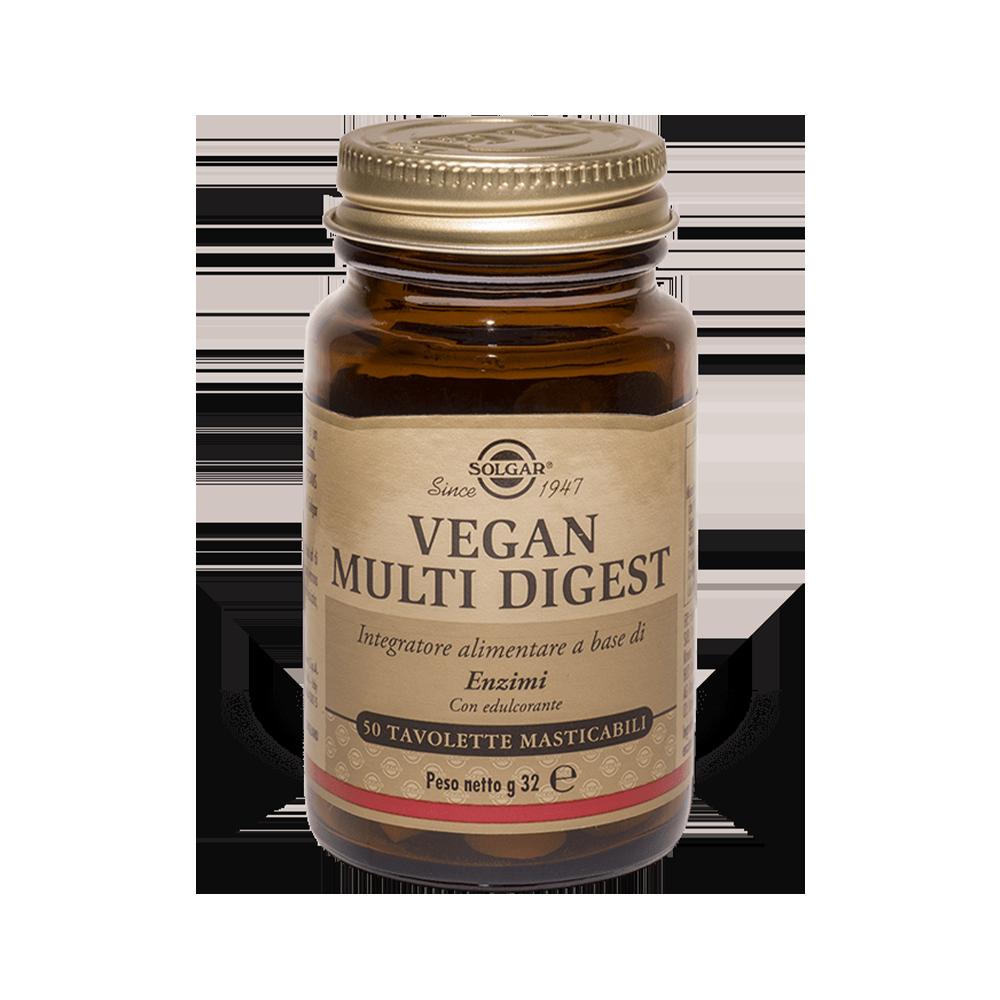 Vegan Multi Digest Masticabile Digestione Solgar