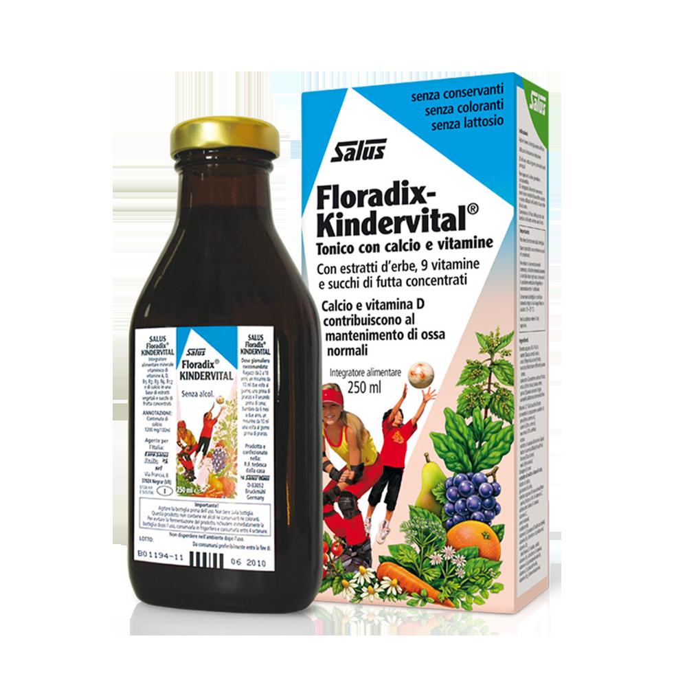 Kindervital® Formula Classica 250 ml Benessere dei bambini Salus