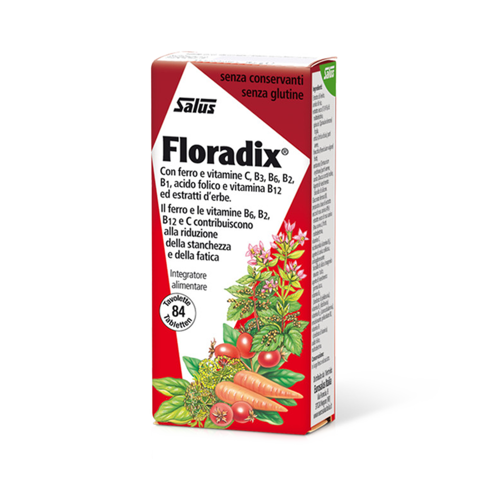 Floradix® 84 Integratori di ferro Salus