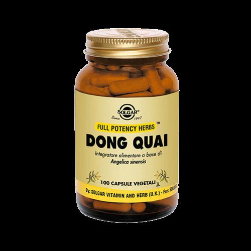 Dong Quai 520 mg Benessere della donna Solgar