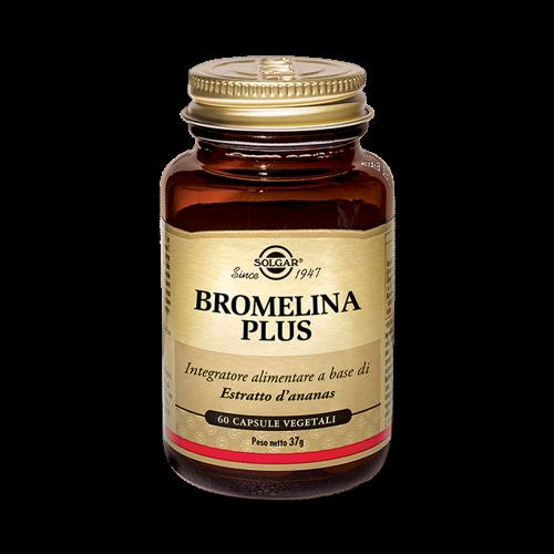 Bromelina Plus Integratori alimentari Solgar