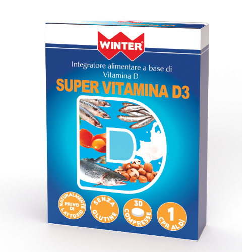 Super Vitamina D3 Difese immunitarie Winter