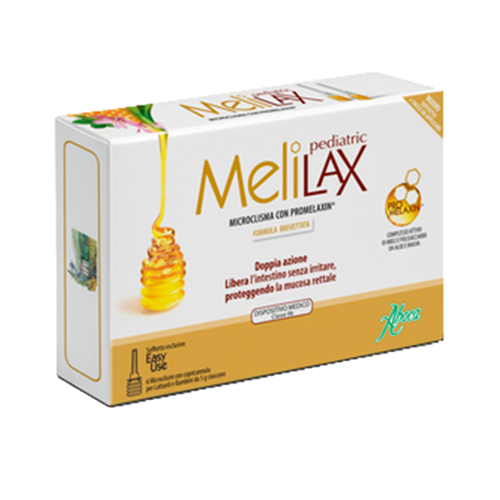 Melilax Pediatric per lattanti e bambini Home Aboca