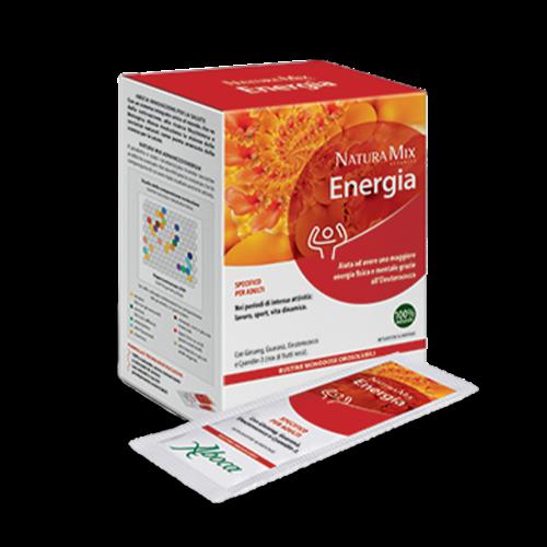 Natura Mix Advanced Energia orosolubile Vitamine e Minerali Aboca