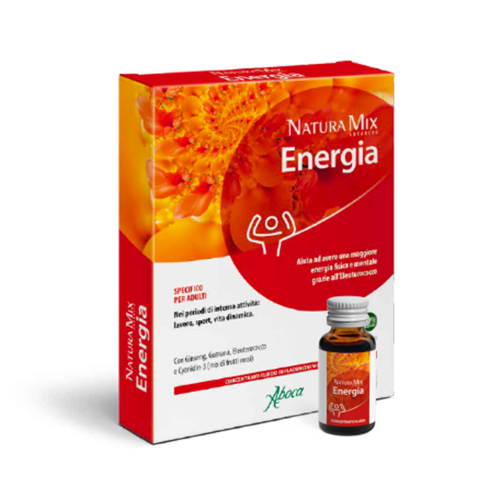Natura Mix Advanced Energia flaconcini Tonici e recupero fisico Aboca