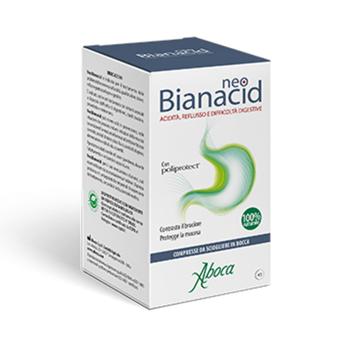 Neobianacid - Acidità, reflusso e difficoltà di digestione Depurazione Aboca