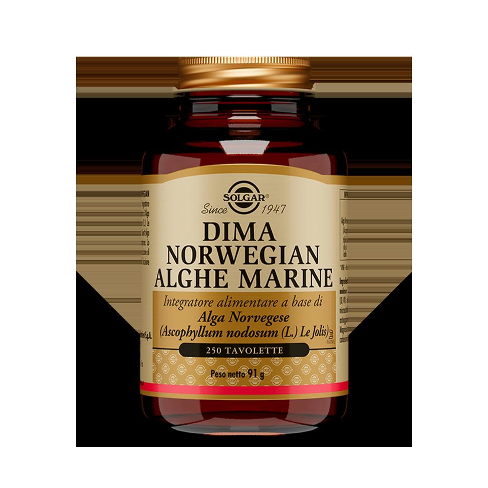 Dima Norwegian Alghe Marine Equilibrio del peso Solgar