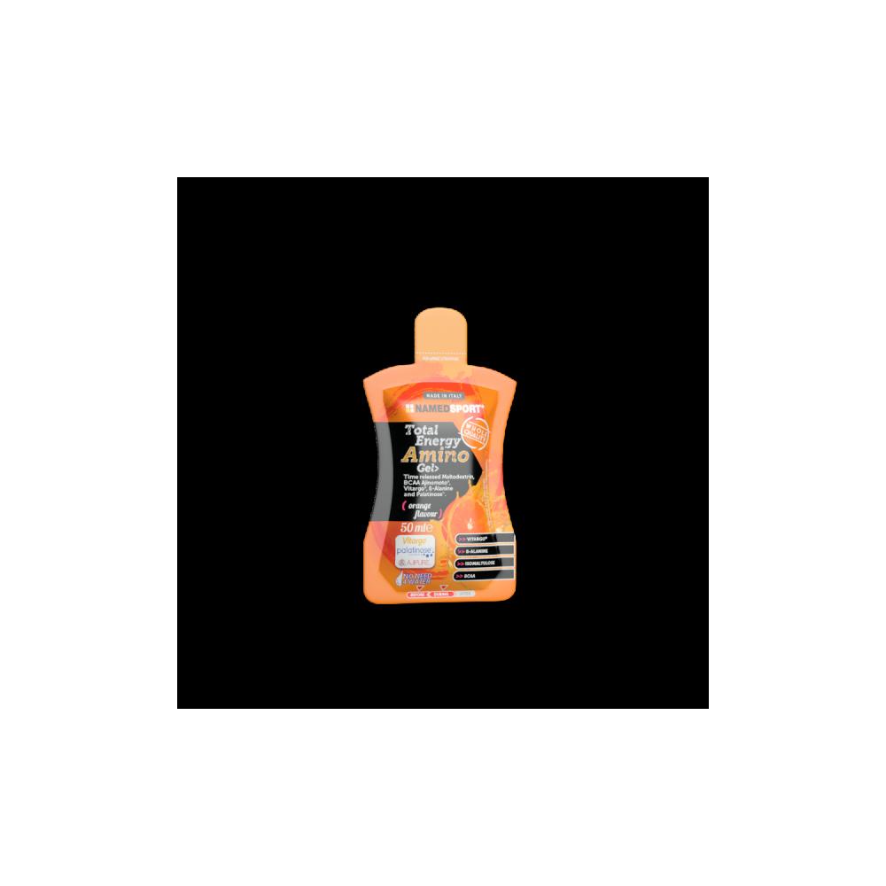 Total Energy Amino Gel Orange Integratori per lo sport Named Sport
