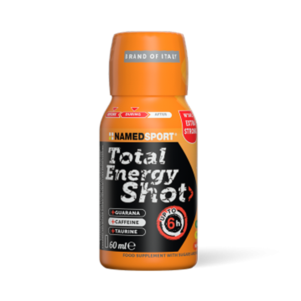 Total Energy Shot Orange Integratori per lo sport Named Sport