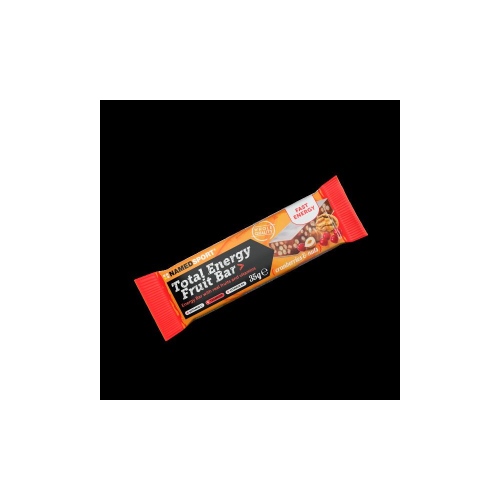 Total Energy Fruit Bar Cranberry & Nuts Integratori per lo sport Named Sport