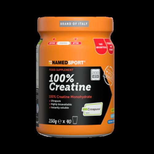 100% Creatine 250 g Integratori per lo sport Named Sport