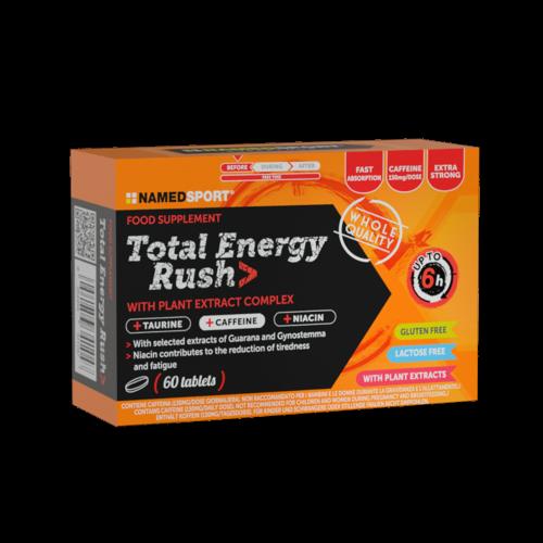 Total Energy Rush Integratori per lo sport Named Sport