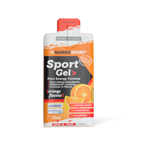 Sport Gel Orange Integratori per lo sport Named Sport
