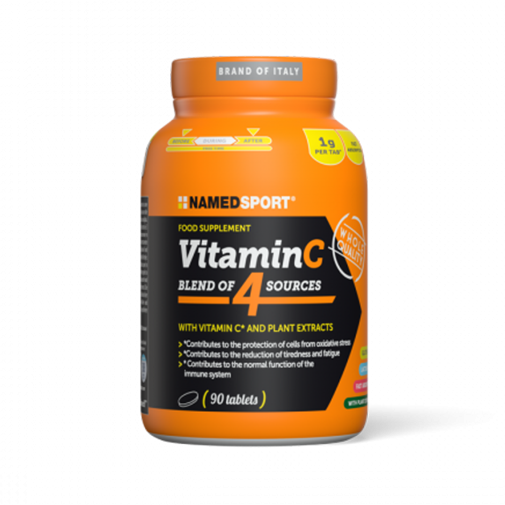 Vitamin C - Blend of 4 sources 90cpr Integratori per lo sport Named Sport
