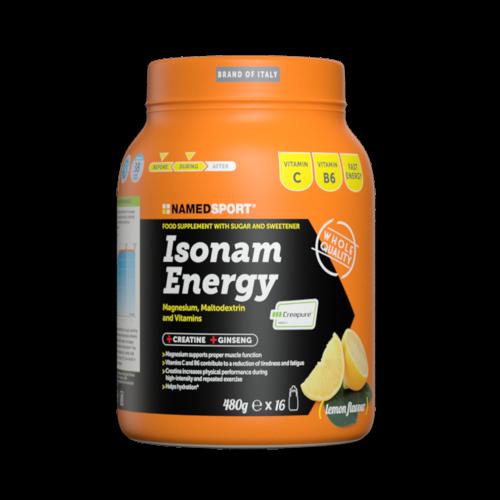 Isonam Energy Lemon 480 g Integratori per lo sport Named Sport