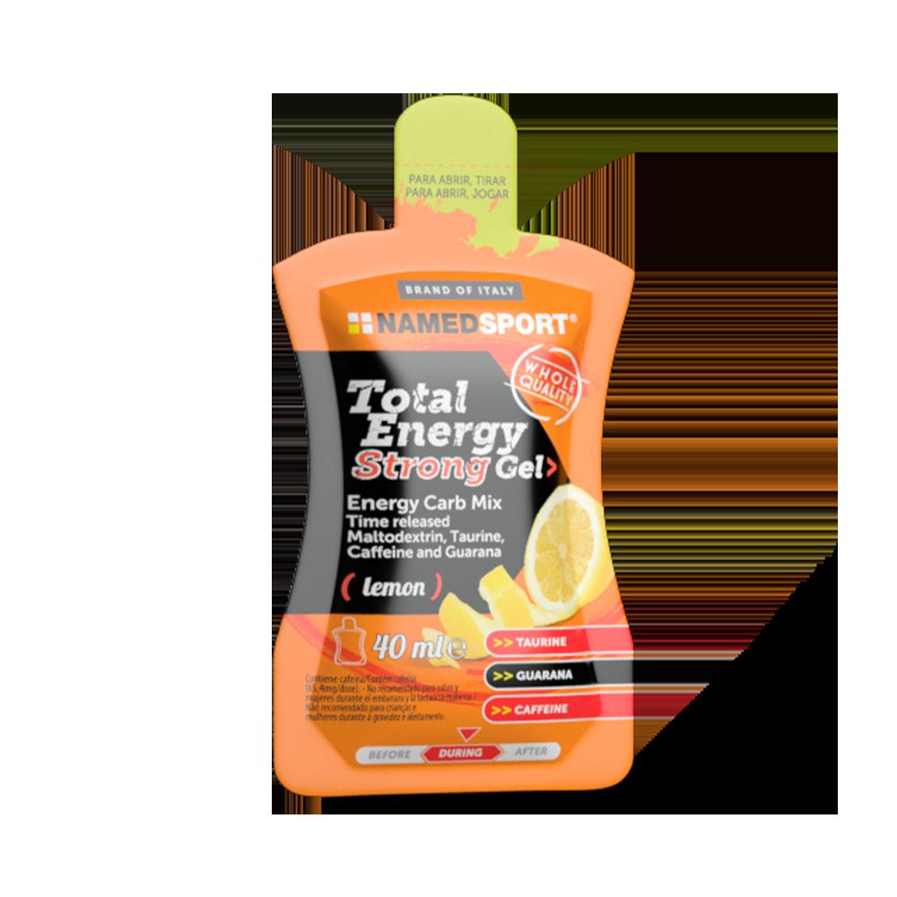 Total Energy Strong Gel Lemon Integratori per lo sport Named Sport