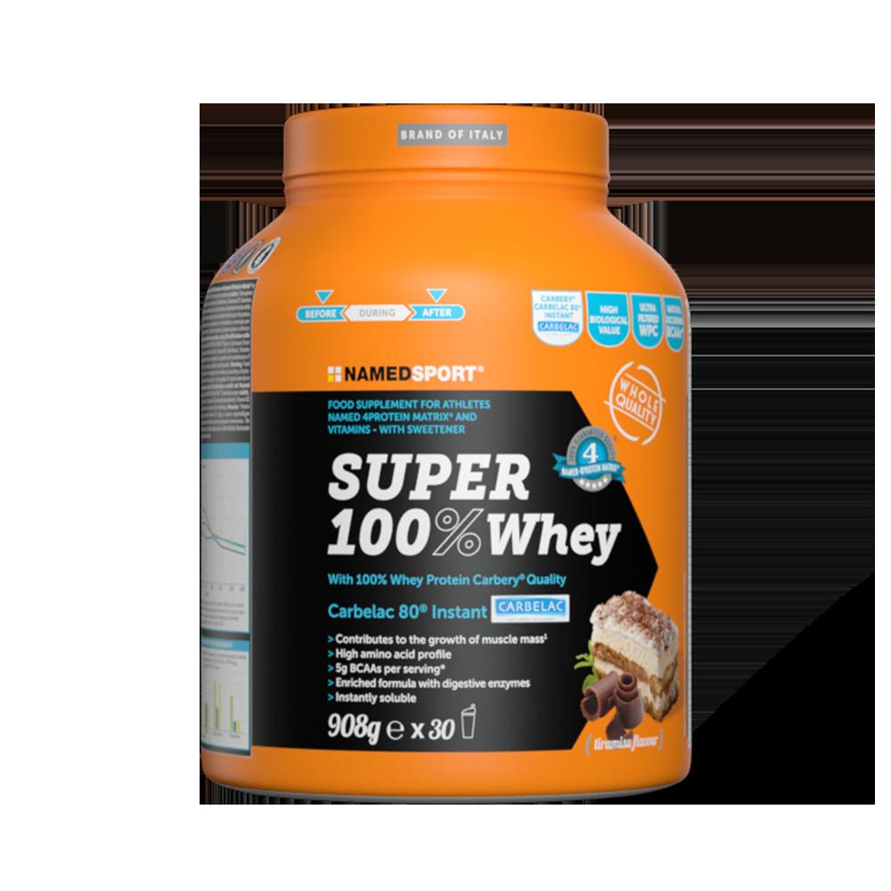 Super 100% Whey Tiramisù Integratori per lo sport Named Sport