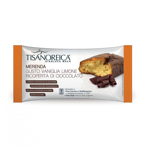 Merenda Vaniglia Limone ricoperta di cioccolato Mech Tisanoreica Mech Tisanoreica