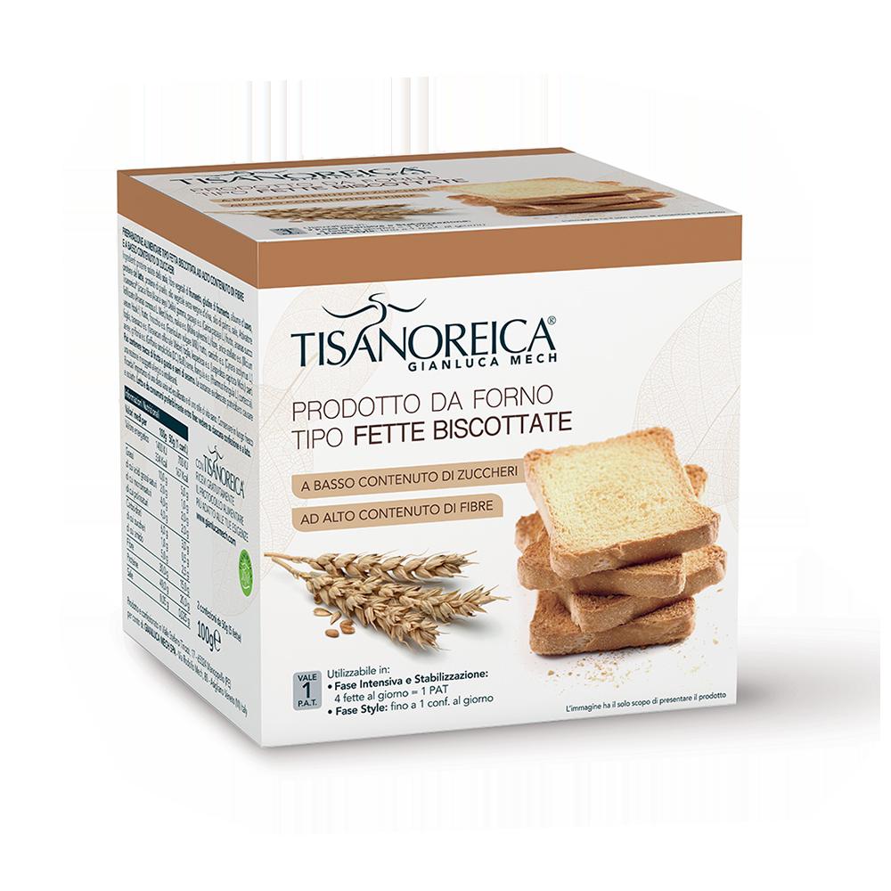 Prodotto da forno tipo Fette Biscottate Mech Tisanoreica Mech Tisanoreica
