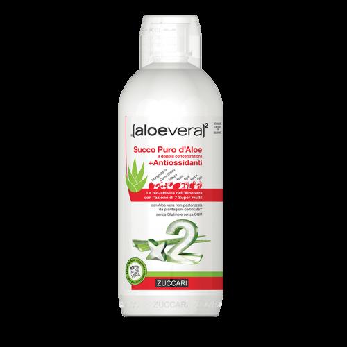 Succo Puro d'Aloe con Antiossidanti Aloe Vera Antiossidanti e antiradicali liberi Zuccari