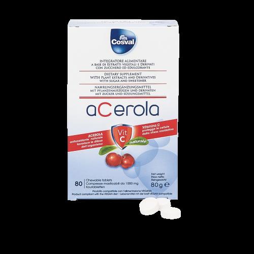 Acerola Vitamina C Integratori alimentari Cosval
