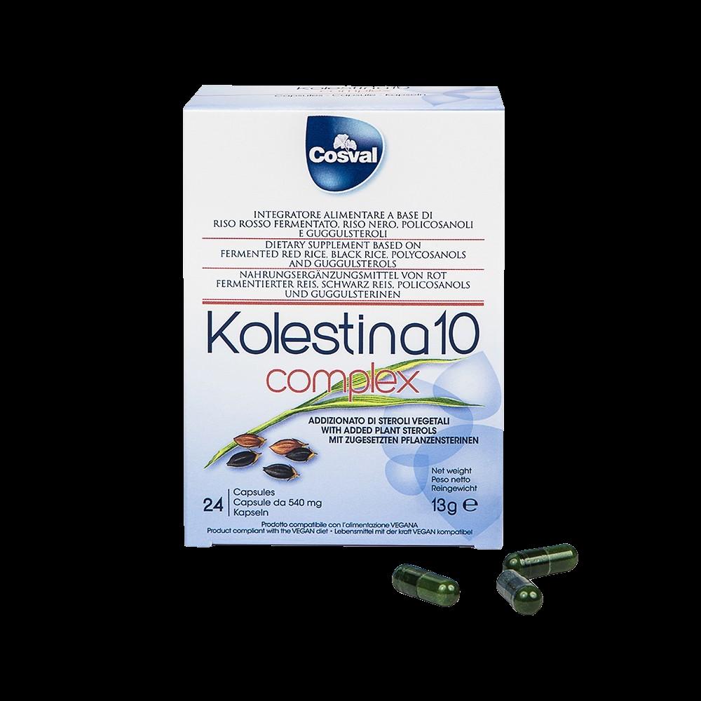 Kolestina 10 Complex Benessere per cuore e circolazione Cosval