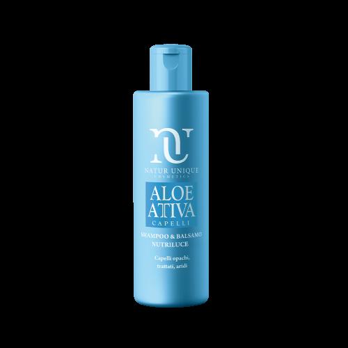 Shampoo e Balsamo Nutriluce Aloe Attiva Shampoo Natur Unique