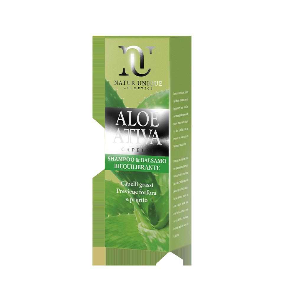 Shampoo Riequilibrante Aloe Attiva Shampoo Natur Unique