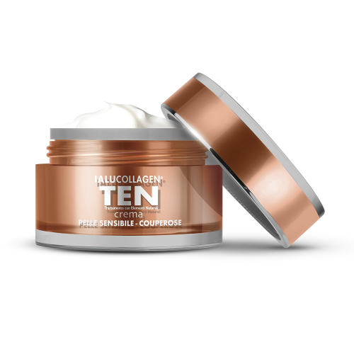 Crema Pelle Sensibile e Couperose Ialucollagen TEN Creme giorno Natur Unique
