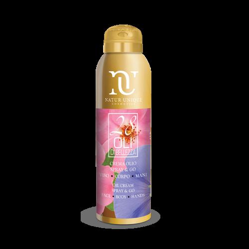 Crema Olio Spray&Go Oli di trattamento Natur Unique