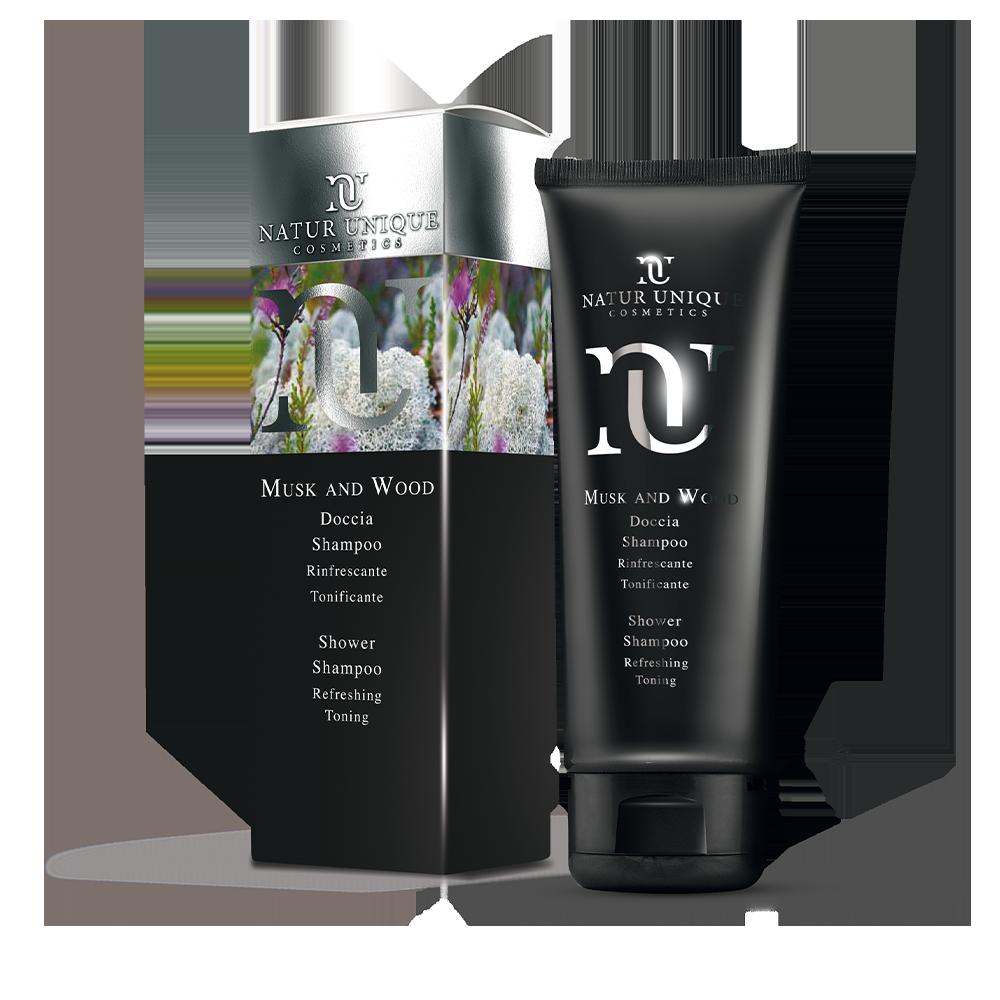 Doccia Shampoo Musk & Wood Bagno e doccia Natur Unique