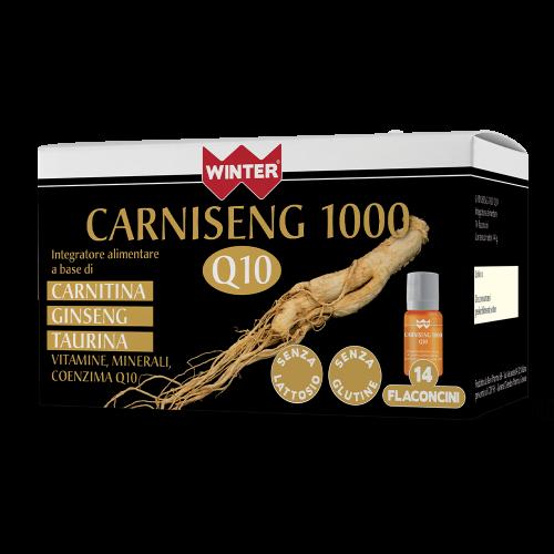 Carniseng 1000 Q10 Tonici e recupero fisico Winter