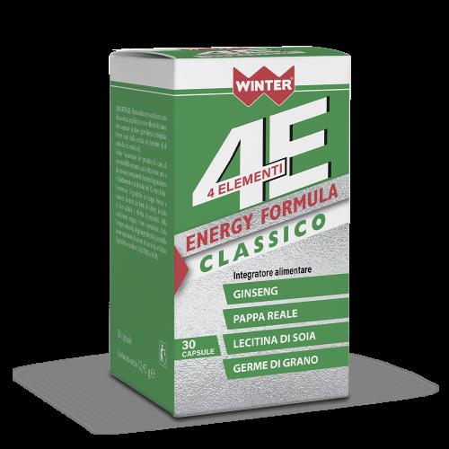 4 Elementi Energy Formula Classico Stanchezza e affaticamento Winter