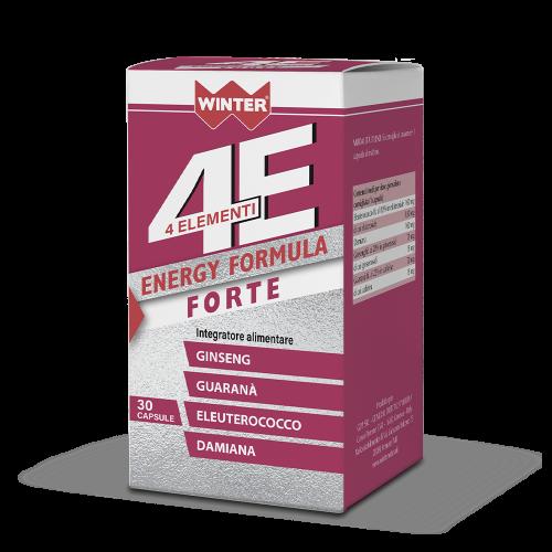 4 Elementi Energy Formula Forte Tonici e recupero fisico Winter