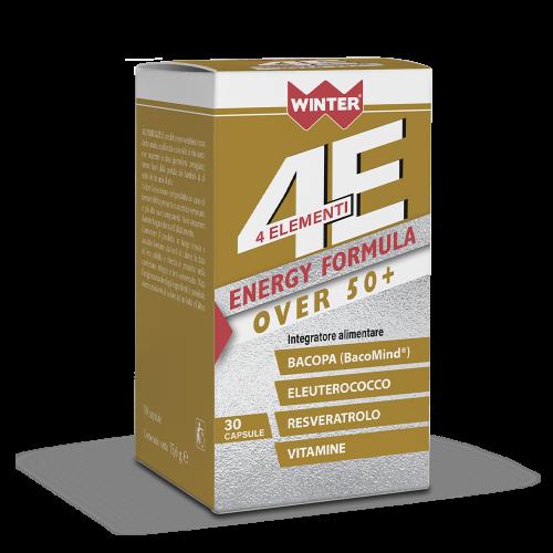4 Elementi Energy Formula Over 50+ Tonici e recupero fisico Winter