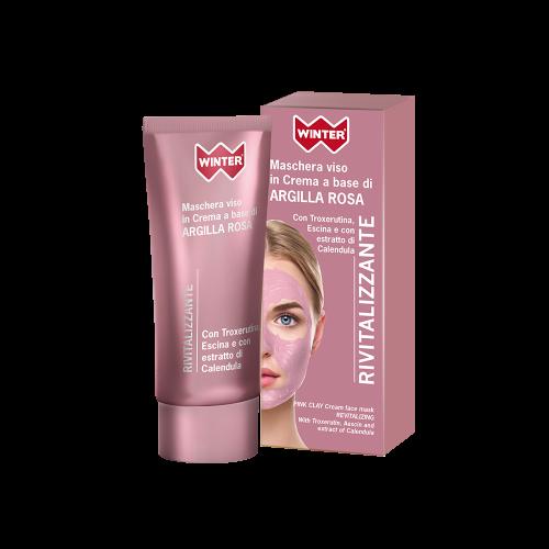 Maschera Viso Argilla Rosa - Rivitalizzante Maschere e patch per il viso Winter
