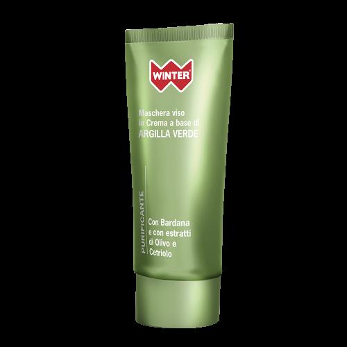 Maschera Viso Argilla Verde - Purificante