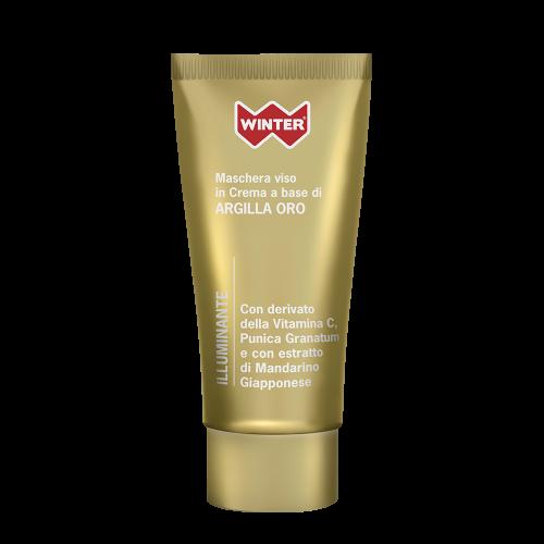Maschera Viso Argilla Oro - Illuminante Maschere e patch per il viso Winter